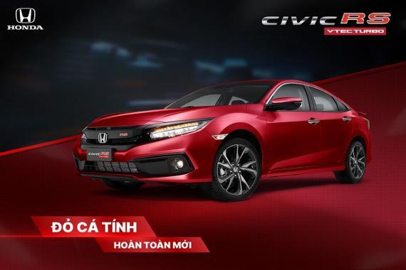 Honda Civic RS khoác áo mới - Đỏ cá tính đậm chất thể thao