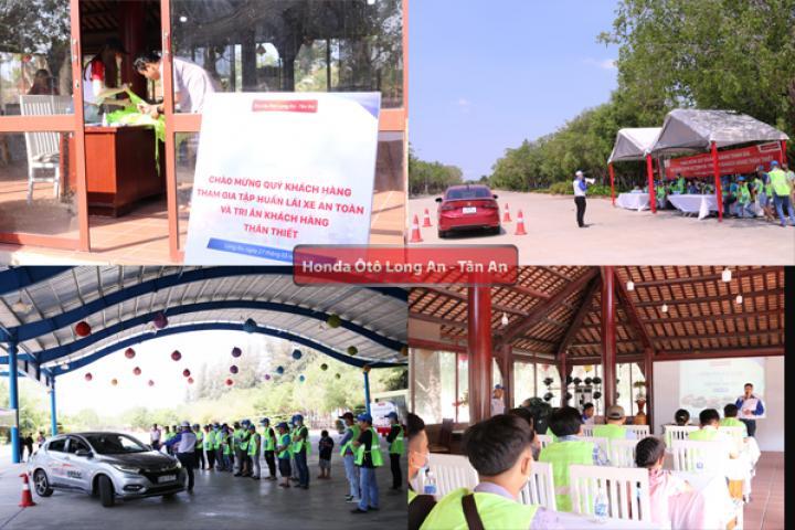 Chương trình lái xe an toàn và Khách hàng thân thiết lần đầu được tổ chức tại Bến Lức