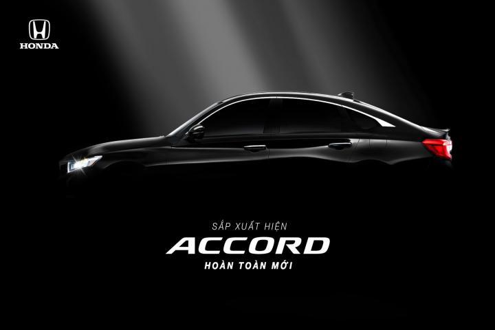 Honda Việt Nam tiết lộ thời điểm ra mắt Accord 2019