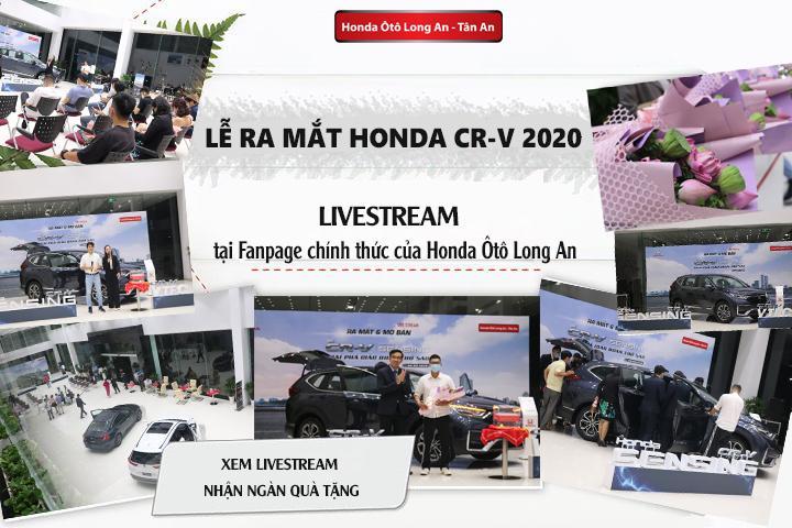 Lễ ra mắt - mở bán chính thức Honda CR-V 2020