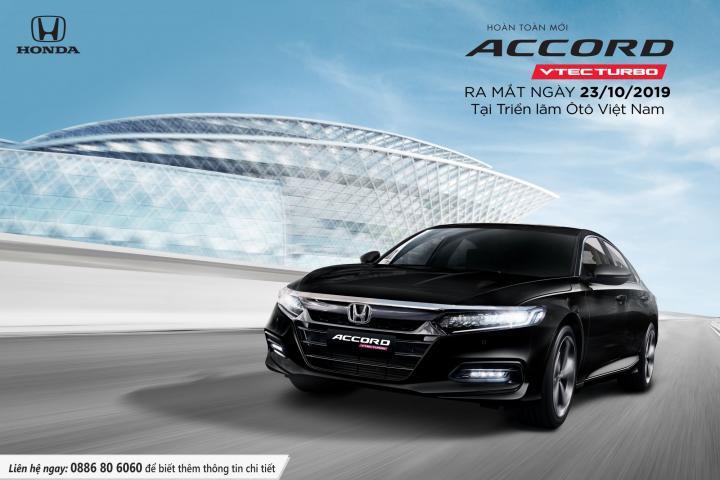 Honda Accord thế hệ 10 hoàn toàn mới nhận đặt xe từ 23/9/2019
