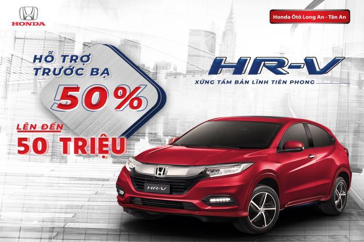Ưu đãi đặc biệt dành cho khách hàng mua Honda HR-V