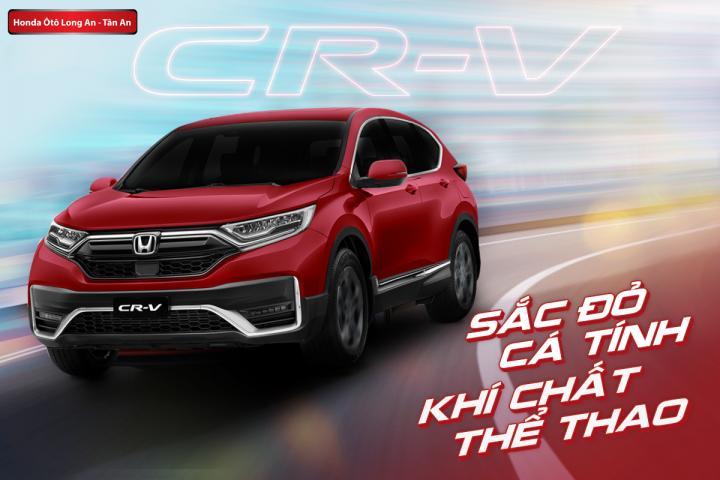 Honda CR-V 2020 thêm sắc đỏ cá tính tăng khí chất thể thao